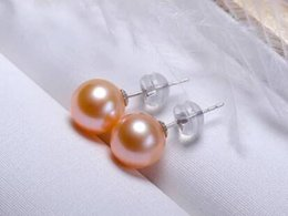$enCountryForm.capitalKeyWord Australia - charming 10-11mm south sea round gold pink pearl earring 18khfk
