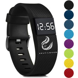 $enCountryForm.capitalKeyWord Australia - Sport Watch Men Fashion Casual Digital LED Sports Watch Unisex Silicone Band Wrist Watches Men Women Buckle Glass Reloj Digital