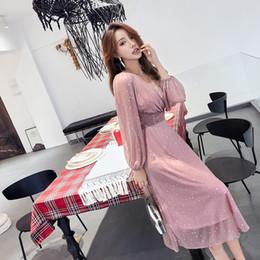 be49403e5586c Women Chiffon Polka Dot Dress Online Shopping | Women Chiffon Polka ...