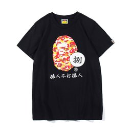 Discount flash trades - spring and summer foreign trade new youth cartoon casual round neck print T-shirt mens designer t shirts t shirt clothes