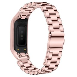 $enCountryForm.capitalKeyWord UK - Samsung Galaxy Fit E 2019 Milanese Bands Stainless Steel Metal Strap Sport Replacement Adjustable Wristband for Galaxy Fit Fit-e R375