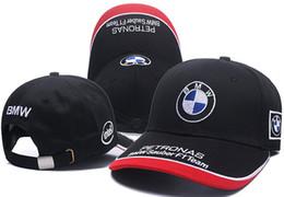 2019 New BMW ajustável F1 cap snapback chapéus bonés de beisebol para mulheres dos homens esporte hop hip hop gorros casquette bonés dos homens das mulheres frete grátis venda por atacado
