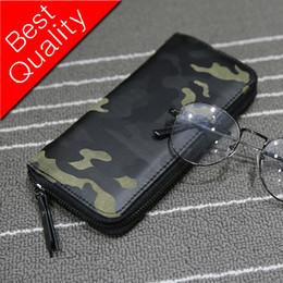 Long Mens Chain Australia - Camouflage Men Wallets Zipper Design Mens Clutch Purse Hand Wallet Clutch Money Purse Wallet Large Capacity Long Card Holder