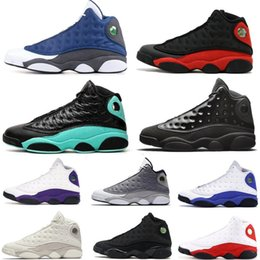 Cats elastiC band online shopping - New Island Green Flint Black Cat Men Women Basketball Shoes s Bred DMP Playoff Hyper Royal Sports Shoes Sneakers Size