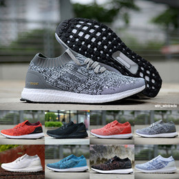 f5a61bb8b Discount ultra boost uncaged - Men Women Top Quality Real ultraBoost  Uncaged Running Shoes Triple Black
