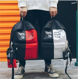 $enCountryForm.capitalKeyWord NZ - Backpack Female 2019 New Korean Style Of The Fashion Casual Contrast Color Backpack All Matching Tide Fan Backpack