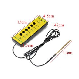 Wire for fencing online shopping - Farm Electrical Fence Voltage Tester Fencing Poly Wire Tape Rope Energiser Tool x4 x1 cm for Daily Fence Maintenance Mayitr