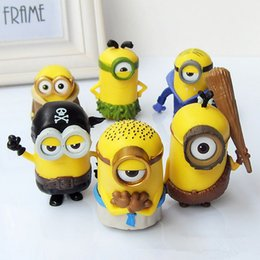 Despicable Figures Australia - 6pcs lot Anime cartoon Despicable me 3 Minions pirates PVC Action Figures Toy 6 style doll model movie toys child birthday gift
