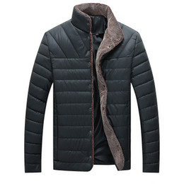 $enCountryForm.capitalKeyWord Australia - Parka Men 2018 Winter Jacket Men Coat Slim Casual Cotton Padded Hombre Faux Leather Parka Mens Coats Jackets Warm Plus Velvet Thick Outwear