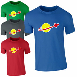 Brand logo shirts online shopping - CLASSIC SPACE T SHIRT Brand design Men Retro Sheldon Cooper Fun Mens O Neck T shirt Cool Logo Funny Men s Print Shirts Camiseta