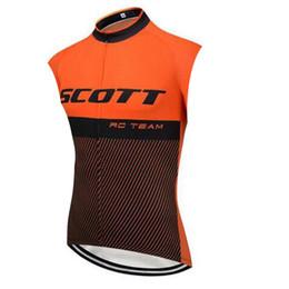 $enCountryForm.capitalKeyWord Australia - SCOTT team Cycling Sleeveless jersey Vest Summer Clothes Bike Wear Comfortable Breathable Quick dry Hot New U52936