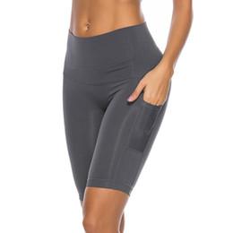 $enCountryForm.capitalKeyWord UK - Women's Leggings 2019 New Seamless high-end tall waist lift hip pants stitching side pocket yoga exercise Panties