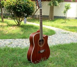 $enCountryForm.capitalKeyWord Australia - free shipping 41-inch corner ballad acoustic guitar novice practice piano guitar all Sapele