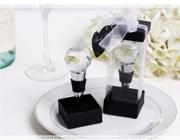 $enCountryForm.capitalKeyWord Australia - Wholesale New Wedding favor Wine cork wine stopper crystal ball metal wine bottle opener Free Shipping