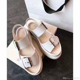 $enCountryForm.capitalKeyWord Australia - European style sandals buckle shoes casual shoes comfortable summer cake decoration fashion leather fashion personality hot