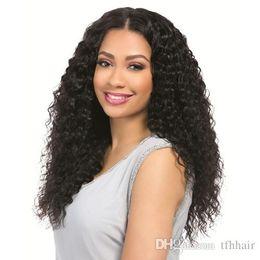 $enCountryForm.capitalKeyWord Australia - Brazilian Deep Wave 100% Unprocessed Virgin Brazilian Hair 3 Bundles with Closure Deep Curly Human Hair Extensions Natural Color