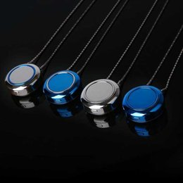magnet air NZ - Portable anion magnet charging air purifier necklace pendant Anti - smog put smoke pendant ornaments Prevent mist haze