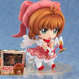Action figures sAkurA online shopping - 10cm Nendoroid Card Captor Cardcaptor Sakura Boxed Pvc Action Figure Set Model Collection Toy Gift Y190604