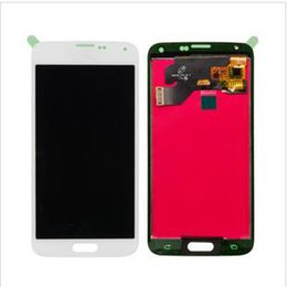 samsung galaxy s5 touch screen digitizer Australia - China LCD display screen digitizer panel for Samsung galaxy s5 I9600 G900F LCD touch assembly replacement