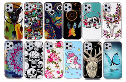 Glow Gel online shopping - Luminous Soft TPU Cases For Iphone New inch Samsung Note Pro Skull Glow In Dark Dreamcatcher Flower Unicorn Gel Covers