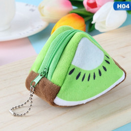 $enCountryForm.capitalKeyWord Australia - Cute Fruit Wallet Gift Plush Coin Purse Women Female Bag Change Purse Moneybag Small Coin Purse For Girls Portfel Damski
