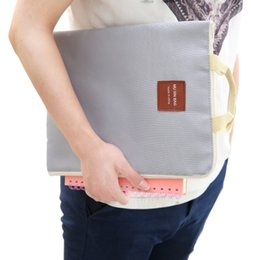eco friendly notebooks NZ - Portable storage bag Tablet PC iPad Mobile phone Data line Notebook File Storage package 4 colors.
