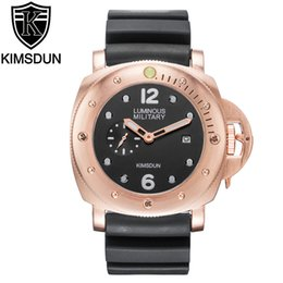 top fashion montre 2019 - 2019 Top Brand Luxury KIMSDUN Fashion Rubber Strap Quartz Men Watches Casual Date Business Male Wristwatches Clock Montr