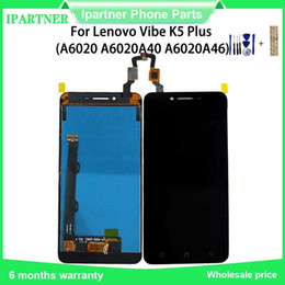 lenovo touch screen replacement Australia - 5 Inch LCD Display for Lenovo Vibe K5 Plus A6020a46 Touch Screen Digitizer Assembly Replacement Parts for Lenovo Vibe K5 Plus