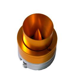 High Quality Auto Gold Golden Aluminum Rear Cover Acoustic Trumpets 1000W 4Ohm Car Horn Loud HiFi Treble Speakers Super Tweeter on Sale