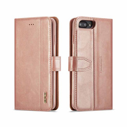 iphone matte wallet case UK - 2 in 1 Detachable PU Leather Wallet Flip Case For iphone 8 7 Plus Luxury Matte Phone Bags with Magnetic Back Cover for iphone XS Max 6s 6 XR