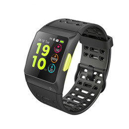 water resistant smart watches Australia - Newest P1 BR1 GPS Multisport Smart Band Heart Rate Fitness Wristband IP67 Water Resistant Color Display Bluetooth TPU Sports Watch