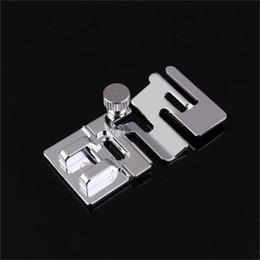 Wholesale foot sewing machine for sale - Group buy Sewing Machine Presser Foot Tool Lace Stitching Elastic Fabric Home Sewing DIY Parts High Quality Factory Supplier npH1