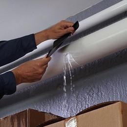 Hot melt fiber online shopping - Super Strong Repair Tape Waterproof Stop Leaks Seal Repair Tape Automatic Performance Fiber Fixing Duct Tape Household Supplies