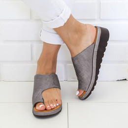 $enCountryForm.capitalKeyWord Australia - 2019 Spring Summer New Womens Fashion Flats Wedges Open Toe Ankle Beach Shoes Roman Slippers High Quality Sandals