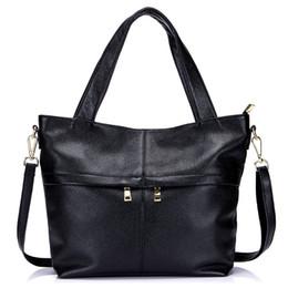 45472398e2716 Female Handbag Fashion Genuine Leather Women Shoulder Bag Hobos Cow Leather  Ladies Crossbody Bag Large Capacity Messenger