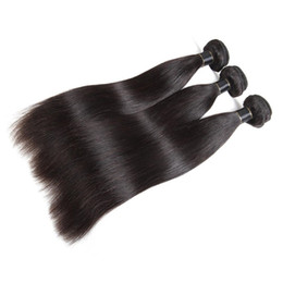 $enCountryForm.capitalKeyWord UK - Fashion Natural Star Style Can Be Hot Dyed Long Black Straight Real Hair Silky Smooth And Smooth Brazilian Hair Extension Hair Curtain