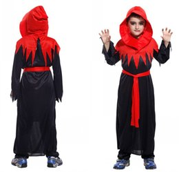 a681ce940e10 Cosplay child boy vintage medieval vampire costume masquerade halloween  carnival purim costume fany dress