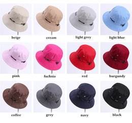 $enCountryForm.capitalKeyWord Australia - Fisherman Hat Women's Pure Color Breathable Fashion Camouflage Sunshade Basin Hat Spring And Summer Sun Protection On Both Sides Of The Sun