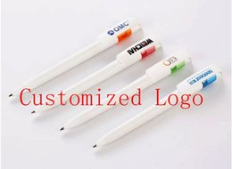 Customize Pens Australia - Customized Product Colors Pens with custom logo Plastic Material Custom Company Logo Printed Ball-Point Pen DHL Free Shipping