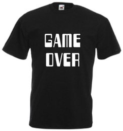 Gray console online shopping - Game Over T Shirt Cool Gamer Funny Retro Console Games Joke Gift Xmas Adults Tee hoodie hip hop t shirt
