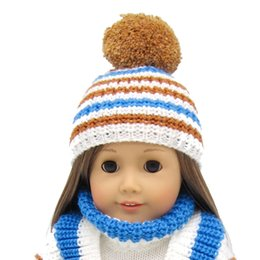 $enCountryForm.capitalKeyWord NZ - 1 Piece american girl Doll sweater hat - 18 inch Doll Clothes Accessories Set Fits for 16~18 inch doll