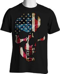 $enCountryForm.capitalKeyWord Australia - American Flag Skull T Shirt Patriotic Stars Stripes Oversize Small To 6Xl Tall T Shirt For Men Best Deals Short Sleeve Thanksgiving Day