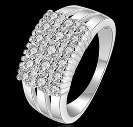 Silver Costume Jewelry Rings Australia - Ring for Women China Wholes Diamond Engagement Rings Fashion Costume Jewelry 925 Sterling Silver Women Masonic Love Silver Wedding Rings