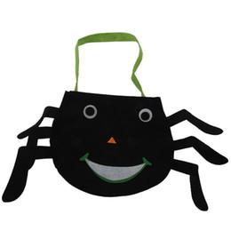 Happy Halloween Candy Bag Snack Packet Bambini Famiglia Kid Garden Home Decor Moda (ragno)