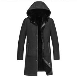 $enCountryForm.capitalKeyWord Australia - New Designer Mens Real wool Fur Jacket Winter long Coat Jackets Male Warm Slim Office Cashmere Coat