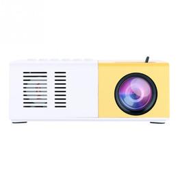 vga hdmi plug 2019 - Mini Digital Video Projector Multimedia Player interfaces VGA USB SD AV HDMI Stylish Home Theater Portable Projector EU