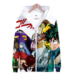 carnival uniforms Australia - My Hero Academia Coat Jacket Boku no Hero Academia Hoodie anime cosplay costume School Uniforms mens Hoodies Sweatshirts