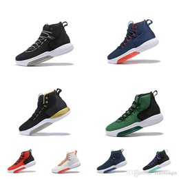 separation shoes 1bb41 34858 Cheap mens air zoom rise basketball shoes hyperdunk 2019 new Black White  Gold Red Blue USA lebron 16 sneakers tennis with box size 7 12