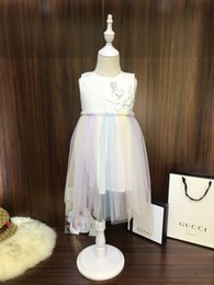 Fashion Trends Lace Dress Australia - Children kids clothing latest summer fashion trend refreshing casual ultra-thin breathable brand girls lace skirt dress