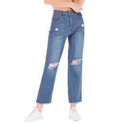 68c7321f84f05f 2019 Solid Wash Winter High Waist Mom Female Boyfriend Jeans For Women  Trousers Pencil Pants Denim Jeans Woman Plus Size Feb10
